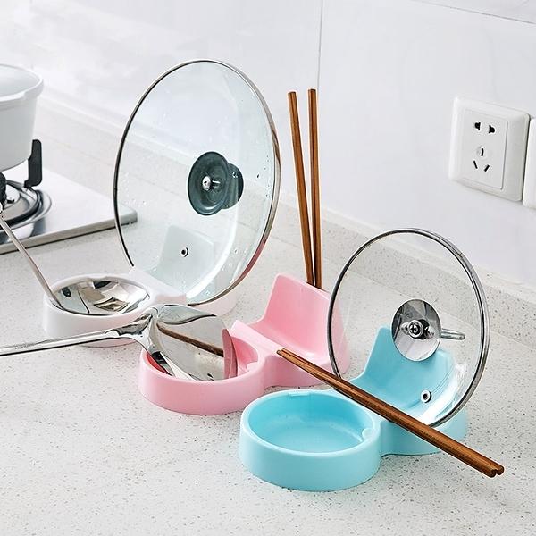 廚房用品鍋蓋架 多功能 置物架 鍋鏟 湯勺 湯匙 飯匙 砧板 防漏 瀝水 衛生 【J186】慢思行