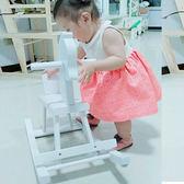618好康鉅惠兒童木馬實木木質搖搖馬椅嬰幼兒童寶寶
