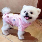 寵物服飾泰迪比熊小型犬寵物衣服狗衣服春裝夏季薄款 艾尚旗艦店