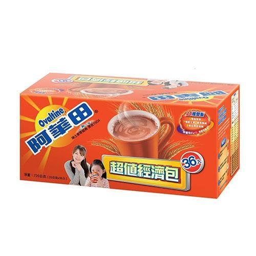 阿華田減糖隨身超值經濟包20g x36入【愛買】