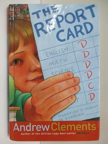【書寶二手書T1/原文小說_BKX】The Report Card_Andrew Clements
