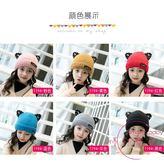 聖誕交換禮物 兒童帽子冬季2-5-8歲女童刷毛加厚帽女寶寶保暖嬰兒帽子毛線帽潮