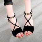 夏新品平底平跟涼鞋女防滑舒適包跟魚嘴羅馬露趾學生涼鞋女潮 - 風尚3C