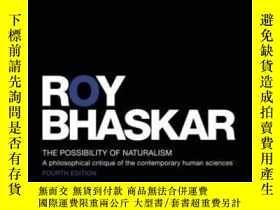 二手書博民逛書店The罕見Possibility Of NaturalismY464532 Roy Bhaskar Routl