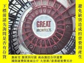 二手書博民逛書店Great罕見Architects Les Grands Arc