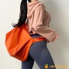 運動背包女便攜式手提健身包大容量網美瑜伽訓練包【小橘子】