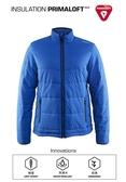 【速捷戶外】瑞典Craft 1904569 PRIMALOFT男防潑保暖外套-瑞典藍, 適合旅遊 登山 滑雪 城市探索