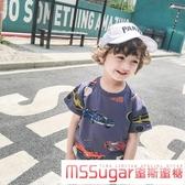 男童夏裝寶寶短袖t恤小童上衣夏兒童男寶寶衣服圓領1-3歲體恤韓版
