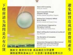 二手書博民逛書店Harvard罕見Business Review On Breakthrough ThinkingY25626
