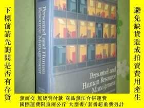 二手書博民逛書店Personnel罕見and Human Resource Ma