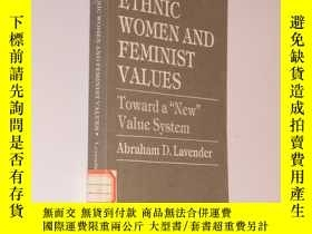 二手書博民逛書店Ethnic罕見Women and Feminist Value