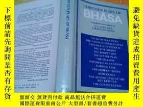 二手書博民逛書店THIRTEEN罕見PLAYS OF BHASA【32開原版精裝