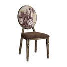 【森可家居】紐約客仿舊餐椅 7JF487-14 英式復古風