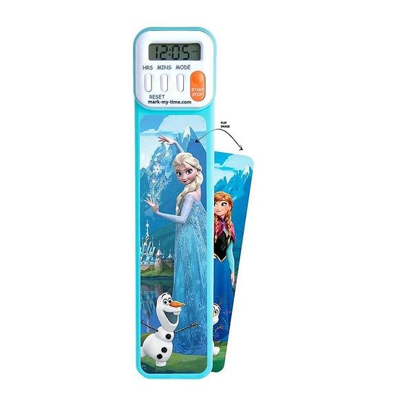 Mark-My-Time 數位書籤 閱讀計時器 3D 巴斯光年/冰雪奇緣/小美人魚/汽車總動員/海底總動員
