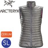 【ARC TERYX 始祖鳥 Cerium SL Vest  刷色鎳灰 羽绒背心】Cerium SL Vest/羽绒背心/保暖背心/背心