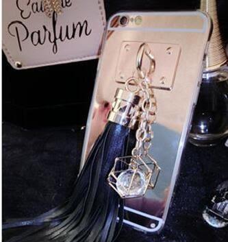 [數位風潮]蘋果 iphone 6 6s plus 極致奢華水晶流蘇吊飾手機殼 流蘇 水晶 吊飾 手機殼 保護殼 軟殼 tpu