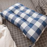 【格紋水洗枕頭】可水洗機洗、超透氣不悶熱、支撐性佳 74cmX48cm  棉床本舖 枕頭