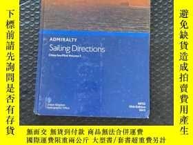 二手書博民逛書店admiralty罕見sailing directions china sea pilot vlome 3Y3