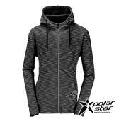 PolarStar 中性 刷毛保暖外套『黑』P17245 排汗.透氣.保暖.中層衣.帽T外套.旅遊.戶外.休閒外套