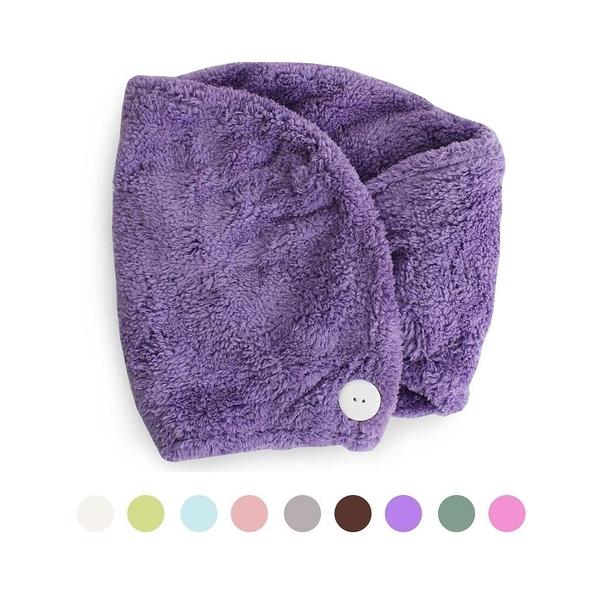 Lovel 7倍強效吸水抗菌超細纖維浴帽-共九款