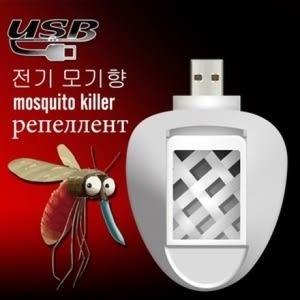 韓版USB滅蚊香片器3件組~加贈★【快樂馬】天然植物精油驅蚊貼片12枚