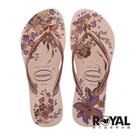 哈瓦仕 Havaianas Slim Organic Flip Flops 粉色 花卉限定 拖鞋 女款 NO.H3698【新竹皇家 4132823-5977W】