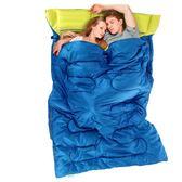 睡袋NH挪客雙人睡袋成人戶外露營帳篷春夏秋冬四季辦公室內午休棉睡袋摩可美家