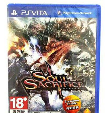 PSV PS Vita Soul Sacrifice 闇魂獻祭 日文版 全新沒拆 出清