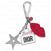 【VT薇拉寶盒】 Dior 迪奧 幸運媚麗吊飾