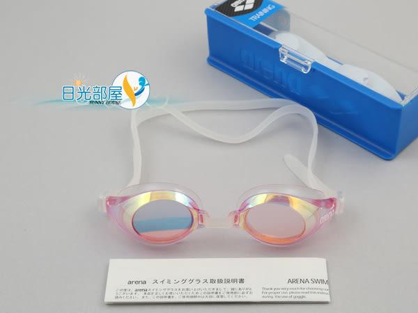 *日光部屋* arena (公司貨)/AGL-310M-PNK 寬視野/貼合/舒適好游泳鏡