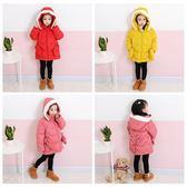 新年衣服 女寶寶棉襖洋氣1-3歲2兒童外套小童紅色棉衣冬嬰兒冬裝 High酷樂緹