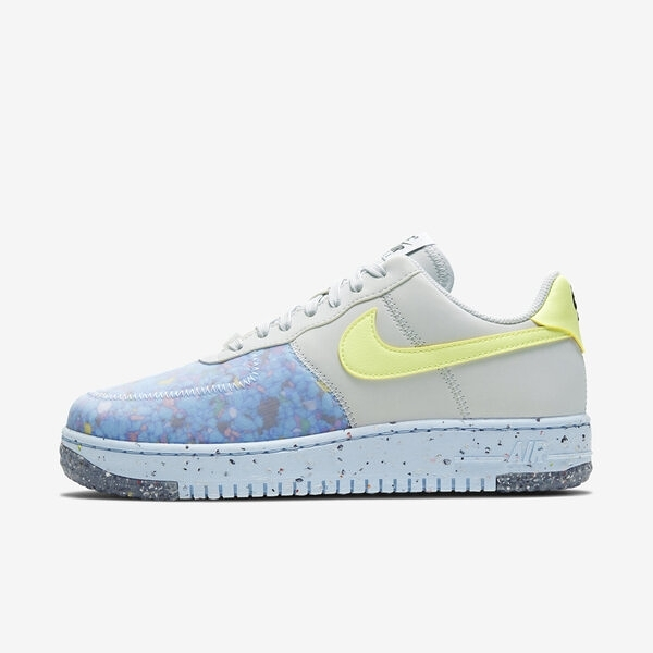 Nike W Air Force 1 Crater [CT1986-001] 女鞋 運動 休閒 慢跑 情侶 穿搭 灰