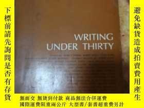 二手書博民逛書店WRITING罕見UNDER THIRTY(美國書,30歲以下年