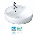 【麗室衛浴】日本INAX 檯面上盆 AL-294V 採用伊奈獨家防污技術 防止水垢 抗菌力強