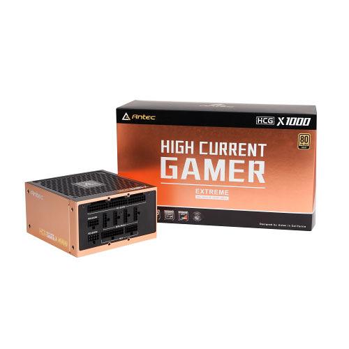 Antec 安鈦克 High Current Gamer HCG 1000 Extreme 80+ 金牌 1000W 電源供應器