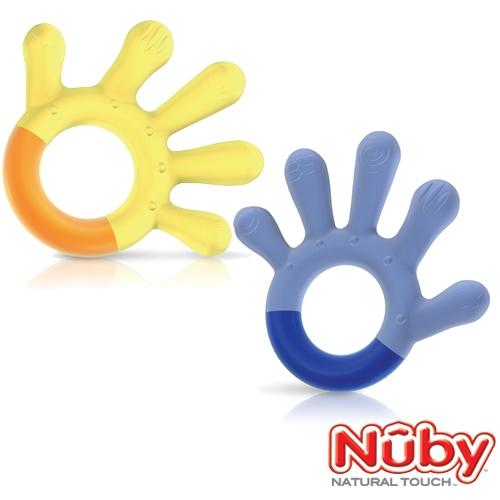 Nuby 自然乳感系列 固齒器第3階段_6個月以上(款式任選)