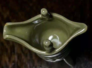 [協貿國際]  2等品青瓷四鳳樽四風酒杯小擺件珍品 (1入)