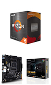 【自組DIY兩件組R59】AMD R9 5900X+華碩 TUF GAMING B550M-PLUS
