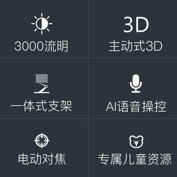 2020新款微麥m200微型投影儀家用小型投牆便攜式手機一體機安卓wifi無線迷你3D高清1080p臥 陽光好物