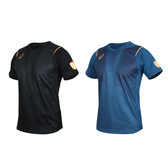 ASICS 男機能排球短袖T恤(免運 訓練 排汗 亞瑟士≡體院≡ 2051A112