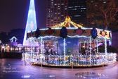 大型豪華旋轉木馬 20人座 新北市歡樂耶誕城 遊樂園 聖誕節 活動租賃另有小型旋轉木馬 耶誕活動