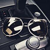 太陽鏡大框復古男女士情侶墨鏡反光眼鏡潮 全館免運