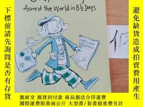 二手書博民逛書店Judy罕見Moody Around the World in 8 1 2 DaysY15335