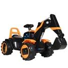 兒童電動挖掘機玩具車大號挖土機可坐可騎超大男孩充電遙控工程車 快速出貨
