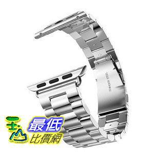 [104美國直購] 手錶帶 Apple Watch (42mm) Strap Button Insurance Folding Clasp for Apple Watch $1664