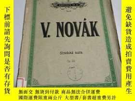 二手書博民逛書店諾瓦克:斯洛伐克組曲(外文)罕見不好Y212829