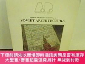 二手書博民逛書店Uses罕見of Tradition in Russian and Soviet Architecture-傳統在