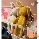 可咬安撫兔公仔毛絨玩具睡覺抱枕布娃娃玩偶...