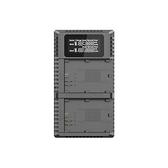 Nitecore UCN2 PRO 雙槽LCD螢幕顯示USB充電器 For Canon 佳能 LP-E6 快充 相機座充 公司貨