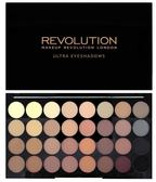 英國 Makeup Revolution FLAWLESS MATTE 32 色全霧面大地色啞光眼影盤